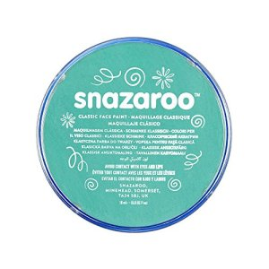 Snazaroo Face and Body Paint, 18 ml – Sea Blue (Individual Colour) 51zNJ9Sg1cL