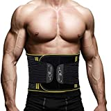 SZ-Climax Back Brace, Lumbar Support Belt Waist Backbrace for Back Pain Relief, Sciatica, Scoliosis and Herniated Disc, Compression Belt for Men and Women with Detachable Spring Strip - L