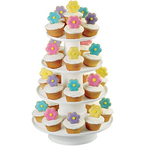 Wilton 4-Tier Stacked Cupcake and Dessert Tower