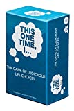 THIS ONE TIME, I… THE GAME OF LUDICROUS LIFE CHOICES (PARTY EDITION) - Best Adult Icebreaker Card Game for Men & Women - Fun, Popular Pregame & Party Game - Optional Drinking Rules - Ages 17+