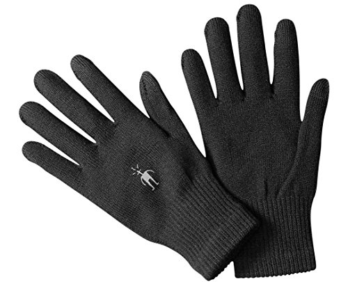 SmartWool Liner Glove, Black, Small