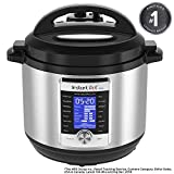 Instant Pot Ultra 8 Qt 10-in-1 Multi- Use Programmable Pressure Cooker, Slow Cooker, Rice Cooker, Yogurt Maker, Cake Maker, Egg Cooker, Sauté, Steamer, Warmer, and Sterilizer