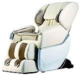 Electric Full Body Shiatsu Massage Chair Foot Roller Zero Gravity w/Heat ... (Beige)