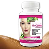 90 Capsules! 350 mg Phytoceramides Top Rated Gluten-Free All Natural Plant Derived PhyGLOW Skin Restoring, Anti-Aging Dermatologist Recommend Formula w/Vitamins A,C,D,E Now in 3-Month Supply by Lean