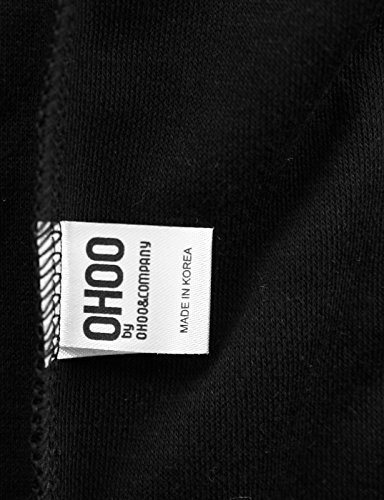 OHOO Mens Slim Fit Sleeveless Lightweight Zip-up Hooded Vest with Zipper Trim 18 Fashion Online Shop gifts for her gifts for him womens full figure