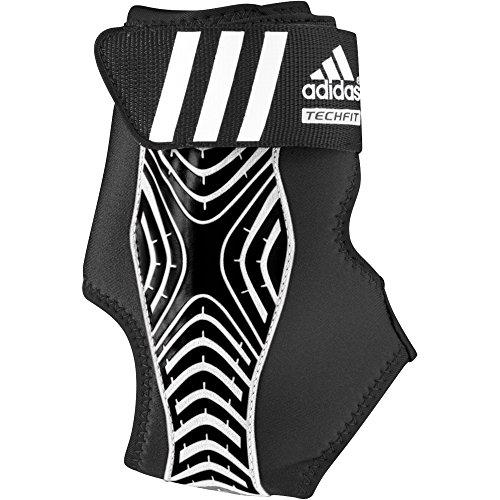 adidas Performance adizero Speedwrap Left Ankle Brace, Medium Lead/Black, Large