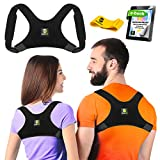 Upper Back Brace Posture Corrector for Women and Men - Shoulder Brace Back Posture Corrector For Men - Upper Back Support and Neck Pain Relief - Back Straightener Posture Corrector - Posture (Regular)