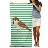 BAGT Luxury Oversized Beach Towels, Microfiber Beach Towel Wrap - Sparrow Stripe Lightweight Absorbent Quick-Drying SPA Towels Swimsuit Bath and Shower Towel Beach Blanket for Women& Men,Girls&Boys