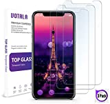 iPhone XS Max Screen Protector [3 PACK] VOTALA iPhone XS Max Tempered Glass Screen Protector. Crystal Clear 9H hardness 3D Touch Compatible 2018 New iPhone XS Max Glass Screen Protector