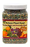 Nelson Citrus Fruit and Avocado Tree Plant Food In Ground Container Patio Grown Granular Fertilizer NutriStar 12-10-10 (2 LB)