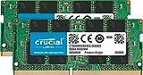 Crucial 16GB Kit (8GBx2) DDR4 2400 MT/S (PC4-19200) SR x8 SODIMM 260-Pin Memory - CT2K8G4SFS824A