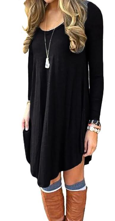 Camisa negra y suelta para mujerhttps://amzn.to/2rlHAxK