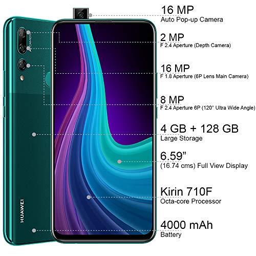 Huawei Y9 Prime 2019 (Emerald Green, 4GB RAM, 128GB Storage) 4