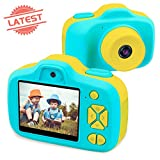Joytrip Kids Digital Cameras for Boys Girls Gifts HD 2.3 Inches Screen 8.0MP Video Camera for Kids Shockproof Children Selfie Toy Mini Camera Camcorder Child for Boys Age 3-14 (Blue)