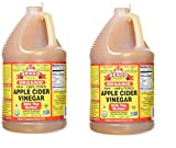 Bragg, Organic Apple Cider Vinegar, Raw, Unfiltered, with The Mother, 128 Ounce