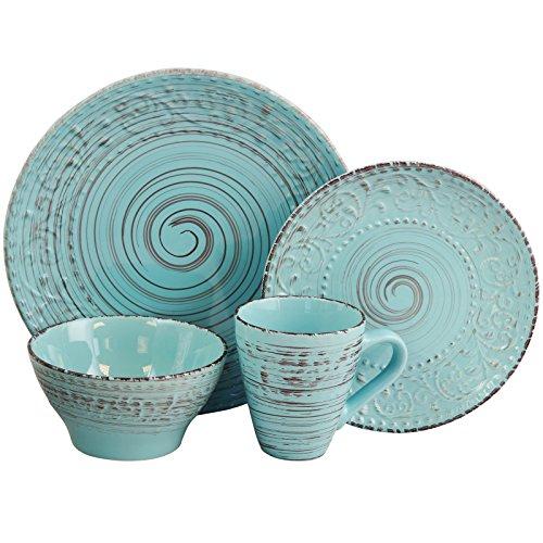 Turquoise Ocean Dinnerware Set