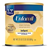Enfamil Gentle Baby Formula Milk Powder, 21.1 ounce - Omega 3, Probiotics, Iron, Immune & Brain Support