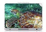 Laptop VINYL DECAL Sticker Skin Print Sea Turtle Swimming in the Ocean fits ThinkPad Ultrabook x1 Carbon 14in.