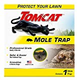 Tomcat 0363210 1 Mole, Protect Your Lawn with a Safe & Easy Trap, 1 Pack, Brown