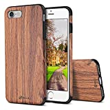 iPhone 8 Case,iPhone 7 Case, B BELK [Air To Beat] Non Slip Soft Wood Slim Bumper, Scratch Resistant Grip Ultra Light TPU Snap Back Cover with Rubber Corner for Apple iPhone 7/iPhone 8