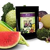 125 Variety Non GMO Non Hybrid Heirloom Seed Bank - Emergency Food Supply - Prepper, Survivalist, Gardener Pack - Vegetables - Fruits - Herbs. LIFETIME GUARANTEE!