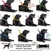 """FRIENDLY"" Green Color Coded Non-pull Dog Harness (Known As Friendly) PREVENTS Accidents By Warning Others of Your Dog in Advance! 5"