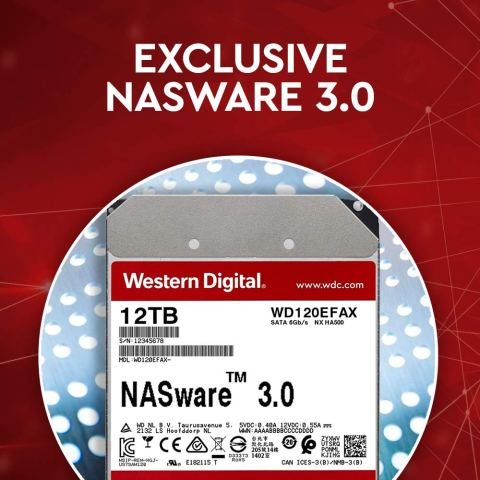 WD100EFAX HDD NASに適用