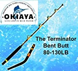 OKIAYA 'The Terminator 80-130lb Bent Butt Saltwater Roller Rod 5'6'