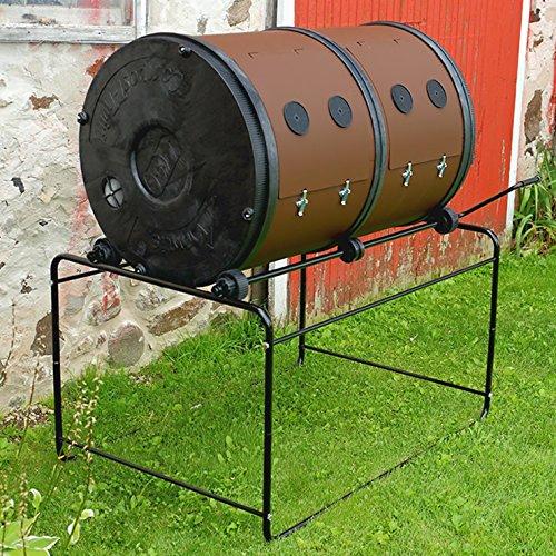 Mantis ComposT-Twin mit 2 Kammern x 350 Liter von ComposTumbler
