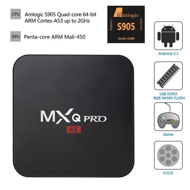 Mxq Pro Android TV Box Review