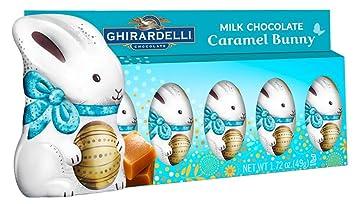 Ghirardelli Milk Chocolate Caramel Bunny