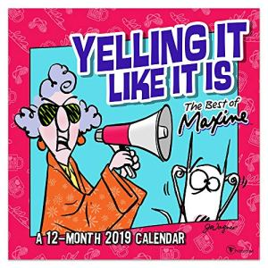 2019 Maxine by Hallmark Wall Calendar: A 12-Month 2019 Calendar (12×12 Inch Monthly Calendar)