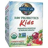 Garden of Life - RAW Probiotics Kids - Acidophilus and Bifidobacteria Organic Probiotic...