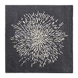 Ikea Rug, high pile, gray, white 6 ' 7 ' 6 ' 7 ' 1628.21423.2630