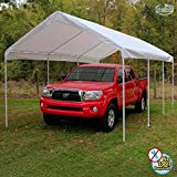 King Canopy 10 x 20 Foot Universal Canopy White