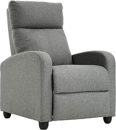 Cotton-Recliner-Chair