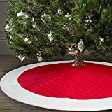 Ivenf 48 inch Large Christmas Tree Skirt
