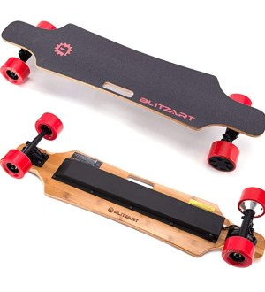 "Best Electric Skateboard: BLITZART Huracane 38"" Electric Skateboard"