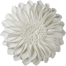 JWH Handmade Sunflowers Accent Pillow