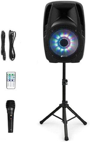 "Sonart 15"" 1500W Powered Speakers, 2-Way Full Range Portable PA Speaker System"