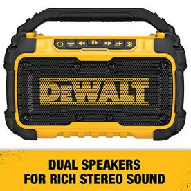 DEWALT-DCR010-20V-Max-Bluetooth-Jobsite-Speaker-Tool-Only
