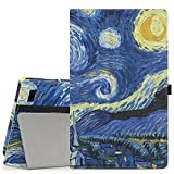 MoKo Case for Fire 2015 7 inch - Slim Folding Cover for Amazon Fire Tablet (7 inch Display - Previous 5th Generation, 2015 Release Only), Starry Night