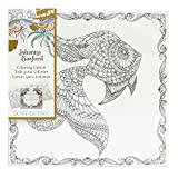 Johanna Basford Lost Ocean Coloring Canvas, Goldfish