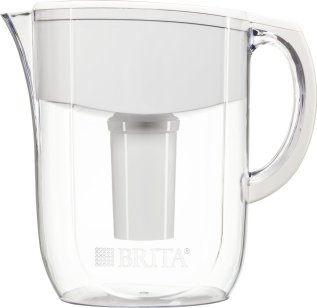 Brita 10 Cup Everyday Water Pitcher with 1 Filter, BPA Free