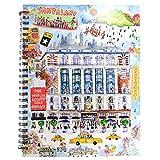 Michael Storrings New York in Four Seasons 8.5 x 6.5-in Macy's Sketch Journal Notebook