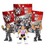 WWE Mattel Wrestling Mighty Mini's Figure Surprise Mystery Pack SERIES 1 Set of 3