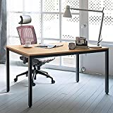 """Product review for Need Computer Desk 55"""" Large Size Office Desk Workstation for Home & Office Use, Teak AC3BB-140"""