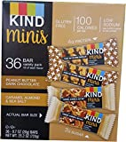 Kind Mini Chocolate Bars Variety Pack, 36 Count (1 Box)