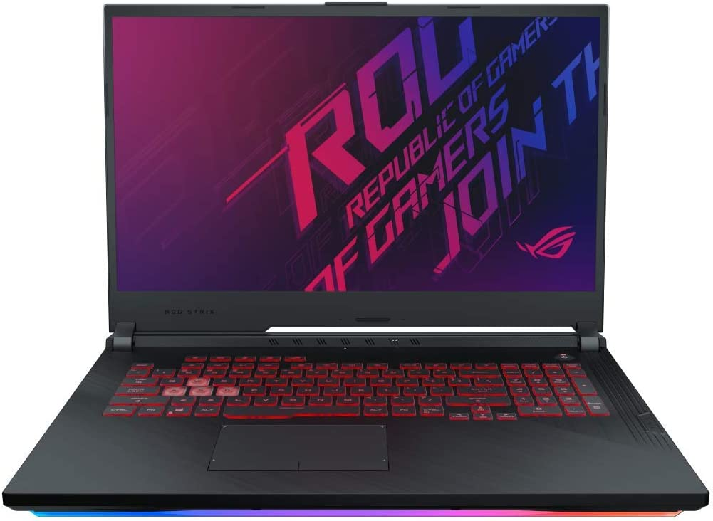 "Asus ROG STRIX3-G-G731GU-EV010T PC Portable Gamer 17"" FHD Dalle 144Hz (Intel Core i7-9750H, RAM 16Go DDR4, 512Go SSD PCIE, Nvidia GTX 1660Ti 6Go, Windows 10) Clavier AZERTY Français"