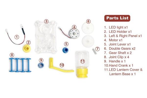 Dynamo Lantern STEM Building Toy